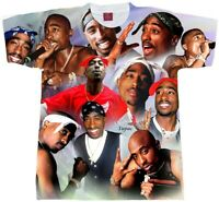 TUPAC Shirt Collage.... Adult and Youth Sizes Hip Hop Tees.T-shirt. RAP t shirt