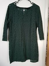 Next Tunic Style Top, Size 14, Green, Worn Once, 2 Part Set With Camisole