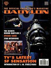 Babylon 5 Cast - Signed Magazine - COA (1943)