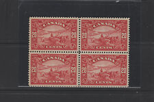 CANADA #157 block of four */**  very fine