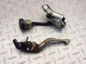 2008 04-08 Aprilia RSV1000R OEM Clutch Master Cylinder Left Lever Assy