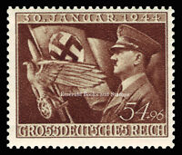 EBS Germany 1944 11th Anniversary of Hitler coming to Power Michel 865 MNH**