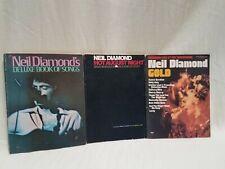 New ListingNeil Diamond Sheet Music Book Lot (3) - Song Lists Provided