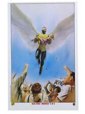 Alex Ross Angel X-Men Lithograph Marvels #2 Marvel Comics X-Men from 2003