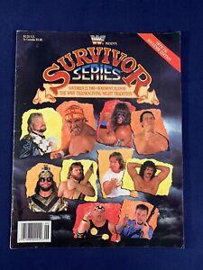 WWF Wrestling Program Survivor Series 1989 Hulk Hogan Macho Man Piper Andre Rude