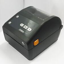 USED Zebra ZD420d Professional Low Energy Bluetooth USB Label Printer #1116