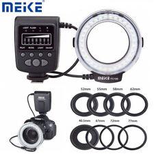 Meike FC-100 Macro Ring Flash Light for Canon Nikon Olympus Fuji DSLR Cameras TG