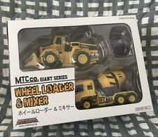 Transformers 3rd Party MakeToys Mixer Wheel Loader Yellow Giant MP Devastator G1