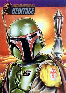 🎇 Boba Fett Bounty Hunter Sketch Card Topps Star Wars Heritage Mandalorian Art