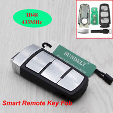 3 BUTTON Car 433 MHz Key Keyless Entry Fob VW Passat CC Magotan ID48 Chip K31