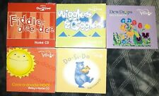 Lot of 5 Kindermusik CD Sets Kids Baby Music Fiddle-Dee-Dee Wiggles & Giggles +3