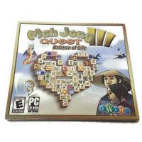 MahJong Quest III Balance Of Life PC CD-ROM Game NEW Sealed Win 98/XP/Vista/10