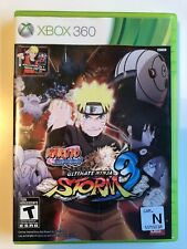 Naruto Shippuden: Ultimate Ninja Storm 3 Xbox 360 Complete w/ Manual