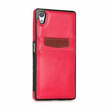 Plain Synthetic Leather Cases & Covers for Sony Ericsson Mobile Phones
