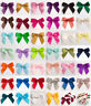 Self Adhesive Large 5cm Pre Tied Satin Bows 16mm Ribbon 1 Sample, 6 or 12 Pack
