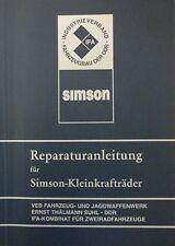 handbuch = Reparaturanleitung SIMSON S 50 Schwalbe KR 51 51/1 Star Habicht DDR