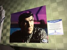 "Mark Lenard Star Trek Signed 8"" x 10"" Photo BAS Beckett Certified"