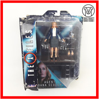 Agent Dana Scully X-Files Action Figure Collectors Boxed Diamond Select Toys