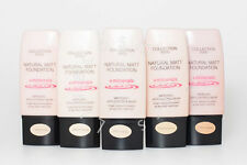 Matte Single Foundations with Minerals