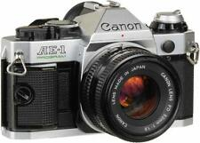 Canon AE-1 Program 35mm SLR Film Single Lens Reflex Camera 50mm 1:1.8 Lens