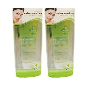 45, 99, 165 mL SmoothE White Baby Face Extra Sensitive Whitening Cleansing Gel