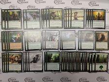 60 Card Deck - MONO GREEN ELF RAMP - Rares - Ready to Play - Magic MTG FTG