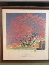 Gustave Baumann 'Cottonwood In Tassel' Signed and Framed Print
