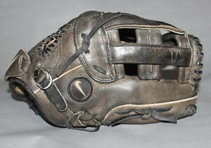 "Nike Pro Tradition 1250 black leather baseball softball glove 12.5"""
