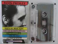 ELVIS PRESLEY THAT'S ALL RIGHT MAMA AUSTRALIAN RELEASE CASSETTE TAPE