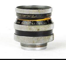 KERN SWITAR 25mm/f1.4 AR C Mount Lens for BOLEX