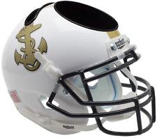 NAVY MIDSHIPMEN NCAA Schutt Mini Football Helmet DESK CADDY