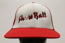 SHOWBALL - BASEBALL - RICHARDSON - S/M SIZE STRETCH FIT BALL CAP HAT!
