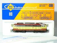 Roco 4151C H0 DC Diesellok BR 215 036-4 der DB, rot/beige, sehr gut in OVP