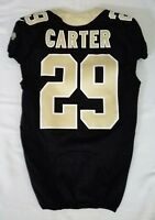 #29 Tony Carter of New Orleans Saints NFL Locker Room Game Issued Jersey