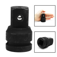 "3/4"" to 1"" Inch Drive Black Air Impact Socket Adapter Reducer Heavy Duty Ratchet"