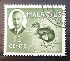 MAURITIUS 1950 G.VI - 12c Dodo Bird SG282 Fine/Used SEE BELOW NB3113