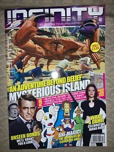 INFINITY 31 MAGAZINE DIANA RIGG THE AVENGERS JAMES BOND PHIL SILVERS SGT BILKO