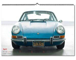 Garage 67 Kalender mit Porsche Motiven 2021 DIN A2 quer Limitiert auf 150St.