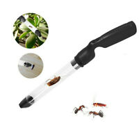 Home Portable Insect Sucker Vacuum LED Fly Bugs Buster Suction Trap Catcher