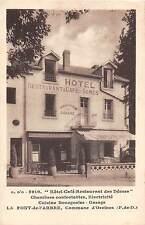 CPA 63 LA FONT DE L'ARBRE HOTEL CAFE RESTAURANT DES DOMES
