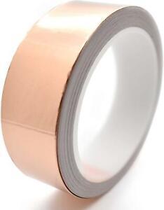 2.2m Copper Tape Slug Snail Repellent Self Adhesive Conductive Foil Tape Shield
