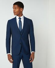 REMUS UOMO 'Luca' Slim Fit Travel Suit/Blue - 40R/34R New SS18