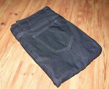 NEW McDonalds Black Denim Jeans Work Pants Crew Uniform Ladies Size 12R