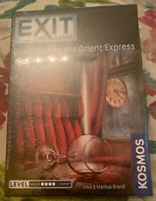 EXIT: The Game - Dead Man on the Orient Express Sealed New In Box