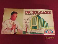 "1962 "" Dr. Kildare"" Board Game Made In Usa Ideal Original & Complete"