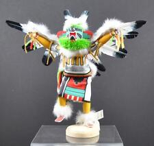 "Native American Indian Eagle Kachina Decor By Gary Largo Navajo About 13"" P7"