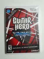 Guitar Hero: Van Halen (Nintendo Wii, 2009) NEW