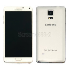 Samsung Galaxy Note 4 SM-N910 32GB Unlocked Android 4G Smartphone White Black