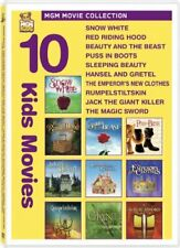 Kids 10-Pack Snow White / Red Riding Hood / Beauty and the Beast / Puss in Boot