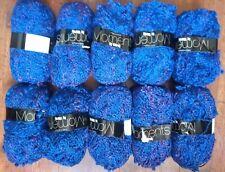 Precious Moments Blue Knitting Wool Bundle